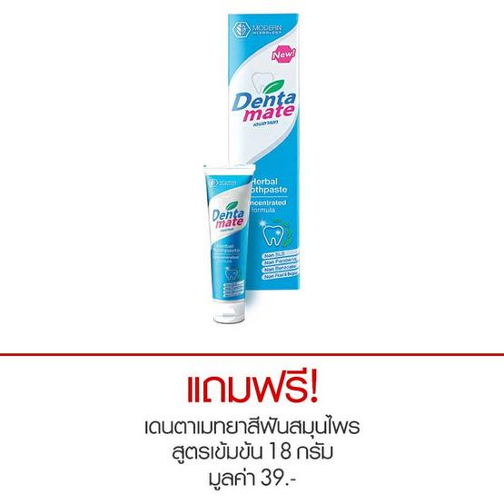 เดนตาเมท ยาสีฟันสมุนไพร สูตรเข้มข้น 100 กรัม