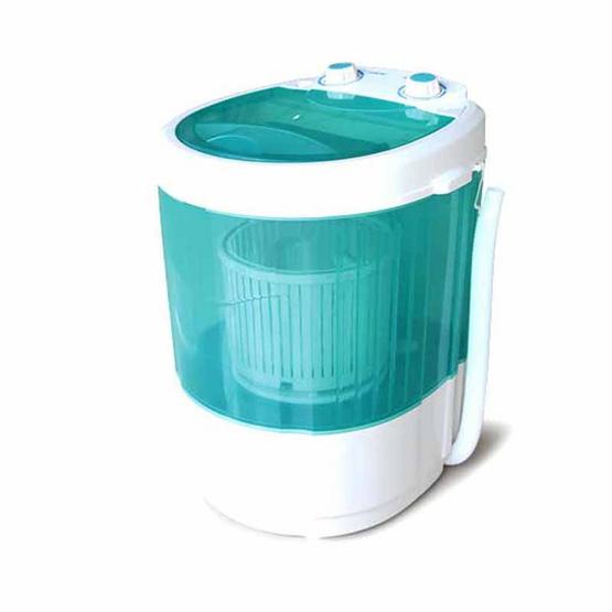 JOWSUA เครื่องซักผ้า 4 กก. สีเขียว