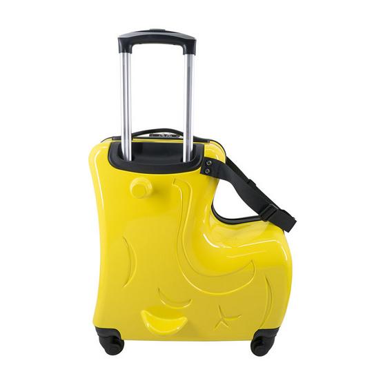 กระเป๋าเดินทางเด็ก ขนาด 20 นิ้ว สีเหลือง