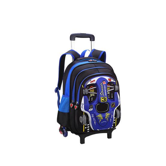 กระเป๋าลากเด็ก สีน้ำเงิน