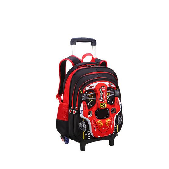 กระเป๋าลากเด็ก สีแดง