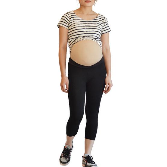 ไอแอมมัม เลกกิ้งคนท้องเอวต่ำ ขา 5 ส่วน ไซส์ L (แพ็ค 2 ชิ้น)