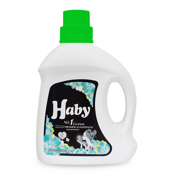 Haby ฮาบี้ ปรับผ้านุ่มเข้มข้นพิเศษ 1600 มล. No.1 กรีน ชาร์มมิ่งแอนด์แฮปปี้เนส (ยกลัง)