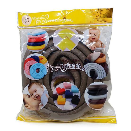 Myoshin ยางกันกระแทก สีน้ำตาล