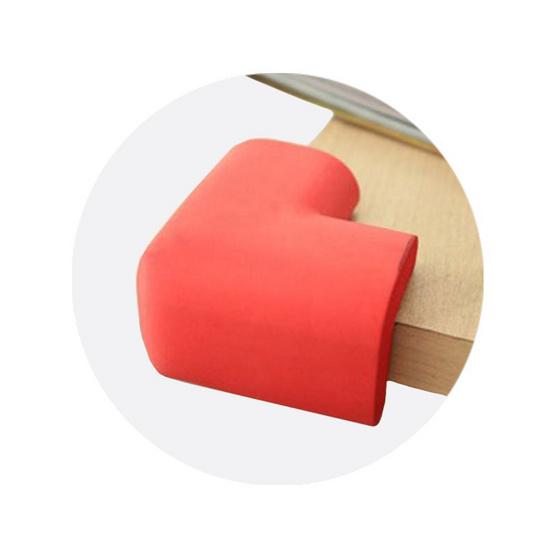 Myoshin ยางกันกระแทกแบบเข้ามุม สีแดง