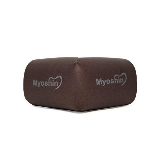 Myoshin ยางกันกระแทกแบบเข้ามุม สีน้ำตาล