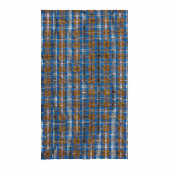 Coloris ผ้าห่มรถทัวร์ 47 x 80 นิ้ว ลายสก็อตสีน้ำตาล
