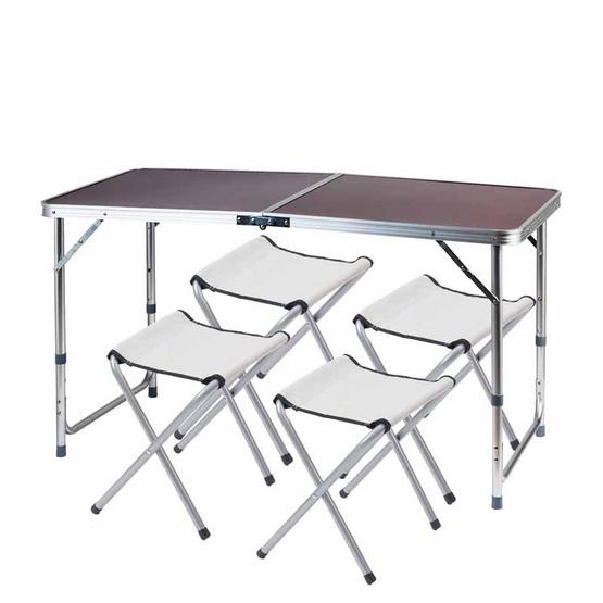 โต๊ะอเนกประสงค์ สีเรดโอ้ค