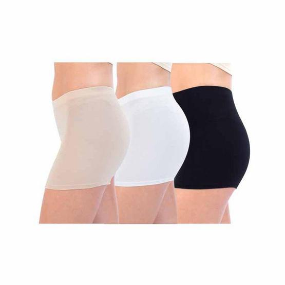 กางเกงซับใน No.528 แพ็ก 3 ชิ้น (ขาว,ดำ,เนื้อ) 2XL