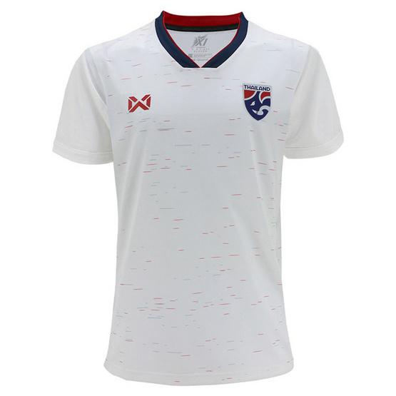 WARRIX เสื้อทีมชาติไทย 2019 ชาย รุ่น WA-19FT53M (สีขาว/กรมท่า)