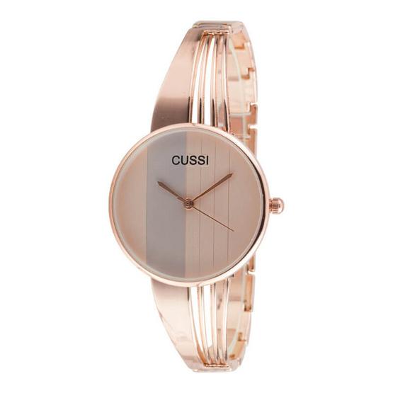 นาฬิกาสายสแตนเลส รุ่น CUSSI WI1394-ROSE