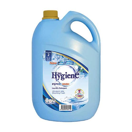 ไฮยีน เอ็กซ์เพิร์ทวอซ น้ำยาซักผ้า สีฟ้า 2,800 มล. แกลลอน