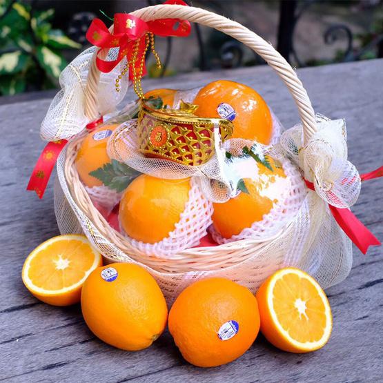 เซ็ตตะกร้าส้มซันคิสท์ 8 ลูก