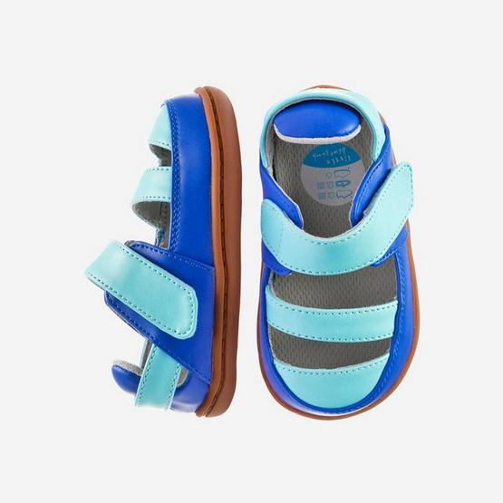 Little Blue Lamb รองเท้าสีน้ำเงิน