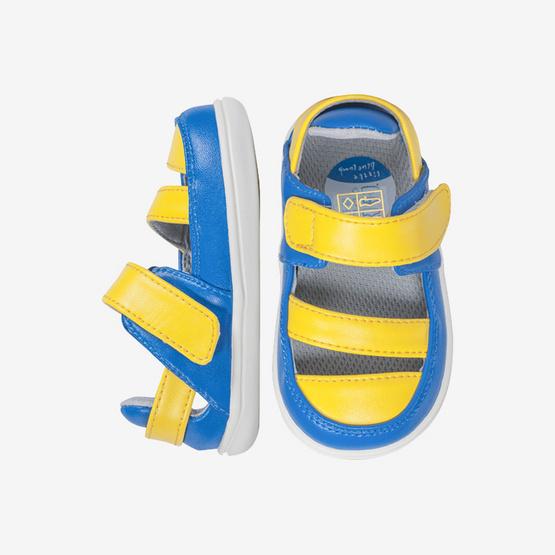 Little Blue Lamb รองเท้าสีเหลือง