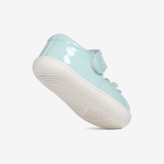 Little Blue Lamb รองเท้าคัชชูสีเขียวมิ้น