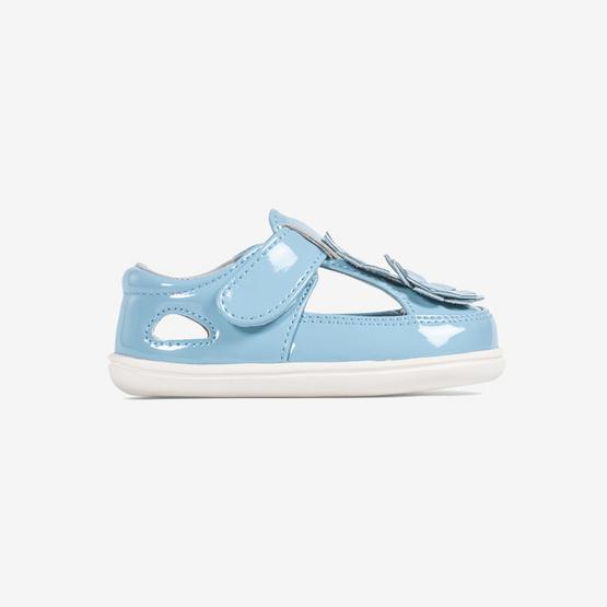Little Blue Lamb รองเท้าคัชชูสีฟ้า