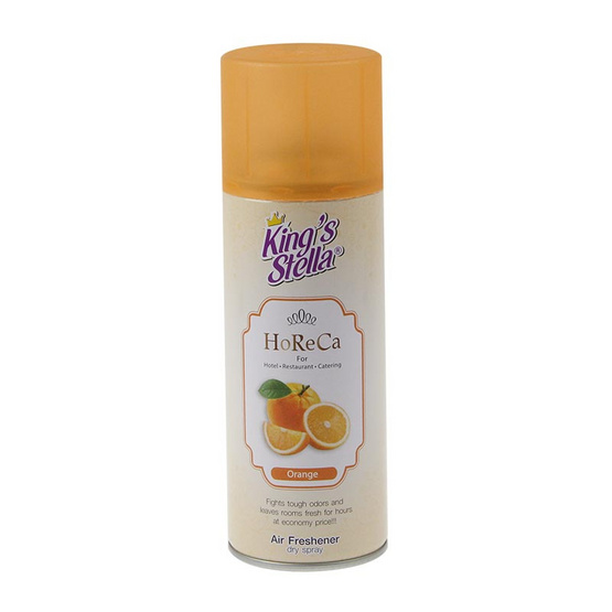 คิงส์สเตลล่า โฮเรกา สเปรย์ปรับอากาศ กลิ่นส้ม 300 มล.
