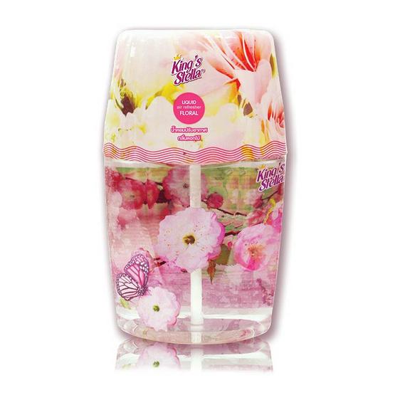 คิงส์สเตลล่า น้ำหอมปรับอากาศชนิดน้ำ กลิ่น Floral 400 มล.