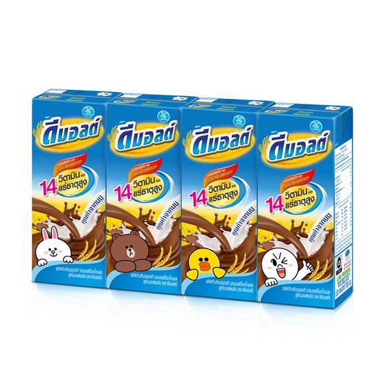 ดีมอลต์ ช็อกโกแลต 180 มล. (12 กล่อง)