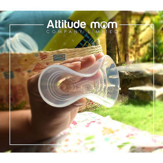 Attitude Mom กรวยซิลิโคน Size 24 mm