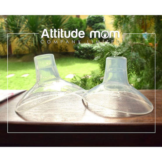 Attitude Mom กรวยซิลิโคน Size 28 mm