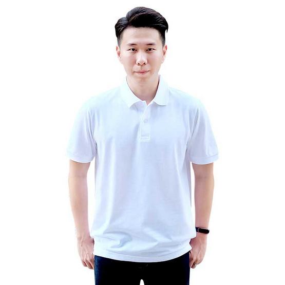 ka-ea เสื้อโปโล ผู้ชาย สีขาว