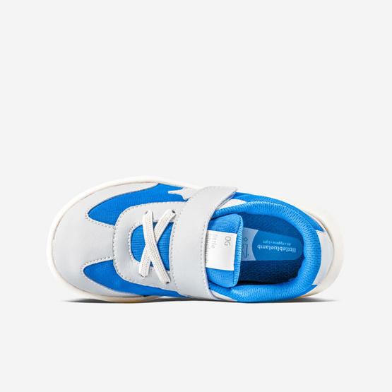 Little Blue Lamb รองเท้าผ้าใบสีน้ำเงิน