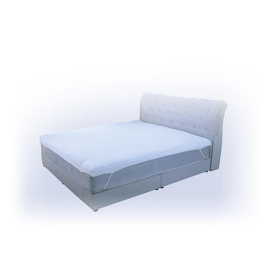 Health Pillow ท็อปเปอร์ขนห่านเทียม 3.5 ฟุต ฟรีผ้ากันเปื้อนกันน้ำ