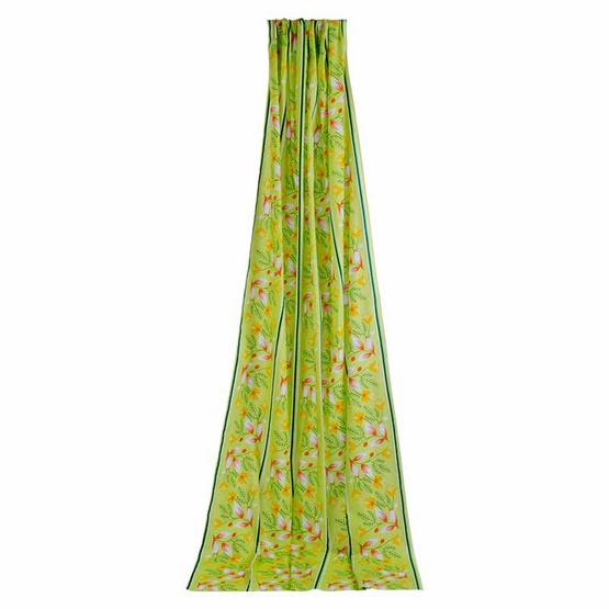 ผ้า DIY 112x250 ซม. ลายสวีททรี สีเขียว