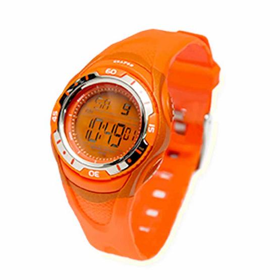 Crayon นาฬิกาเด็ก รุ่น CR3.185 สีส้ม