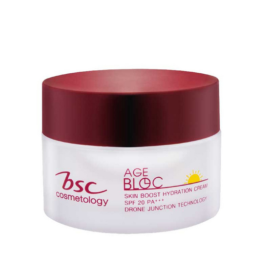 BSC เอจ บล็อค สกิน บูส ไฮเดรชั่น ครีม SPF20PA+++ 30 กรัม