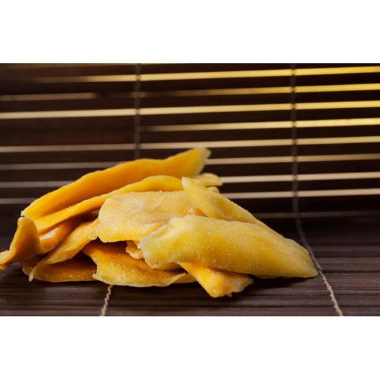 มะม่วงอบแห้ง สูตรหวานน้อย 100 กรัม