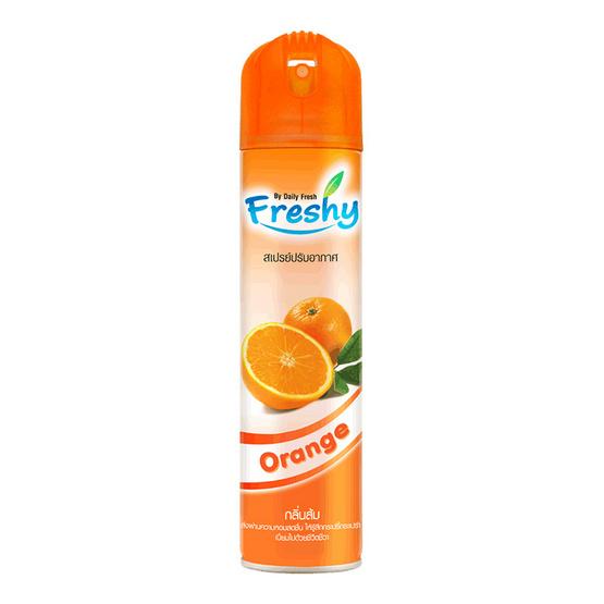 Freshy เสปรย์ปรับอากาศ กลิ่นส้ม 300 มล.