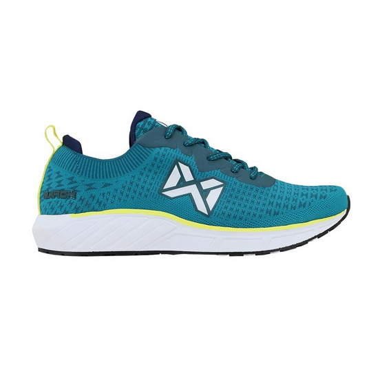 Warrix รองเท้า RUNNING WF 1305 สีเทอควอยซ์/เขียวสะท้อนแสง CG