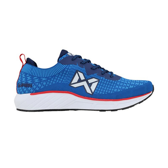 Warrix รองเท้า RUNNING WF 1305 สีฟ้า/แดง LR