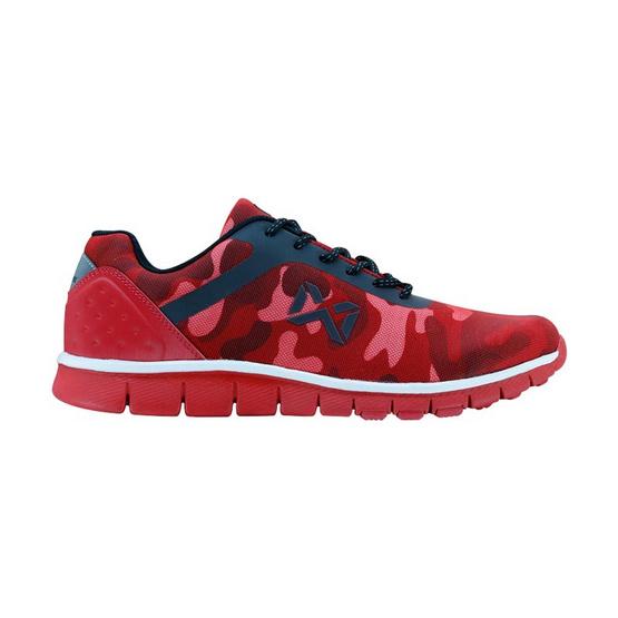 Warrix รองเท้า MAXIMUM RUNNER WF 1306 สีแดง RR