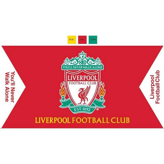 ผ้าขนหนู Liverpool ลิขสิทธิ์แท้ ขนาด 16*32