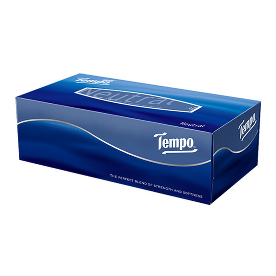 Tempo เทมโพ กระดาษเช็ดหน้า เนเชอรัล (1 กล่อง)