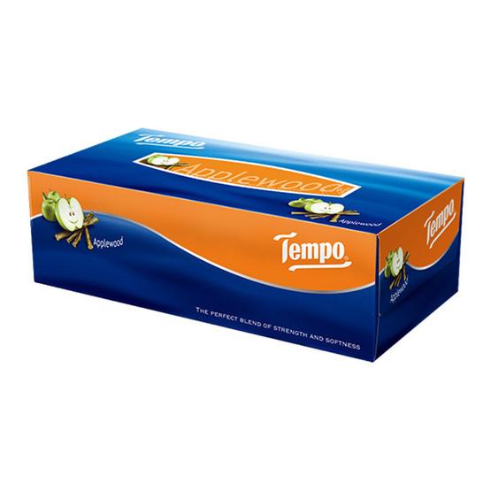 Tempo เทมโพ กระดาษเช็ดหน้า แอปเปิ้ล (1 กล่อง)