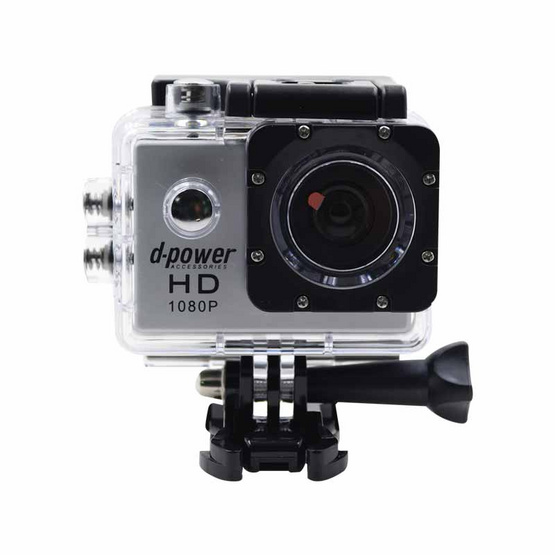 d-power กล้อง Action Camera สีเทา