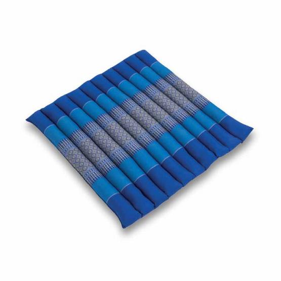 Coloris เบาะรองหลังลายขิด 50 x 50 ซม. สีน้ำเงิน คละลาย