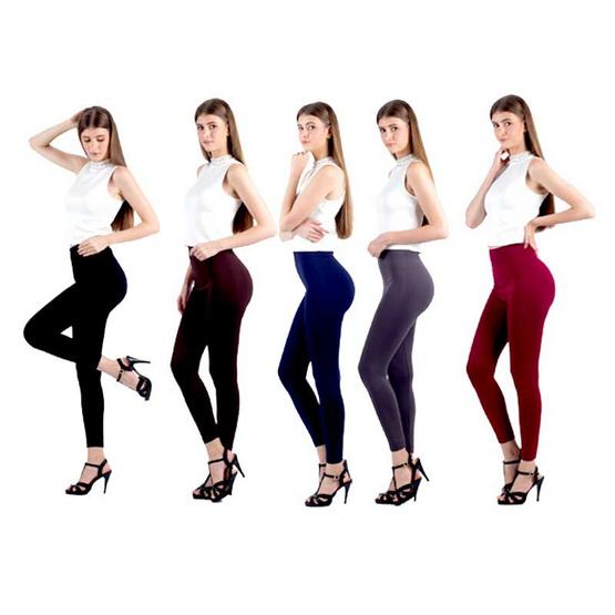 Sabella กางเกงเลคกิ้ง นาโน 5สี