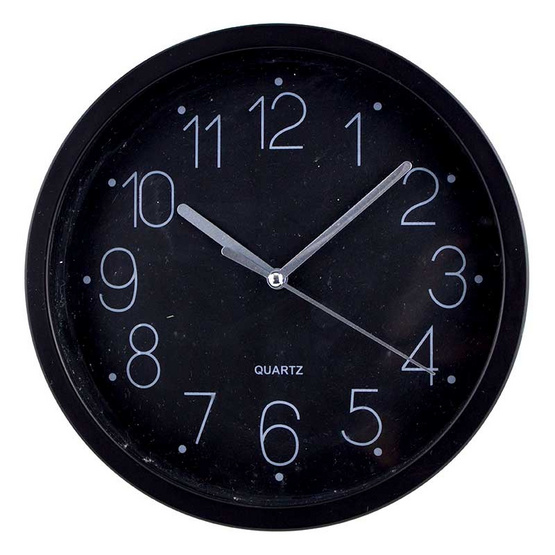 นาฬิกาแขวนผนัง สีดำ