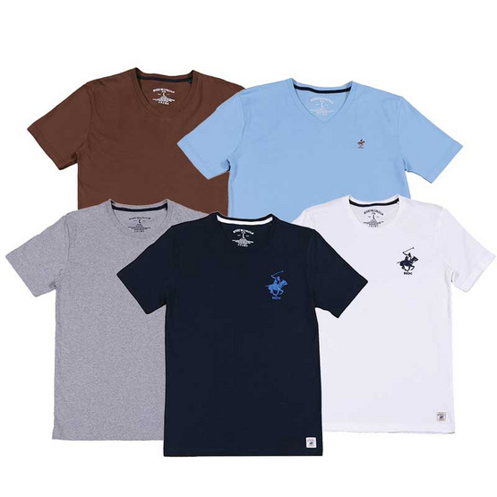 Beverly Hills Poloclub T-Shirt Natural Feel ไซส์ L