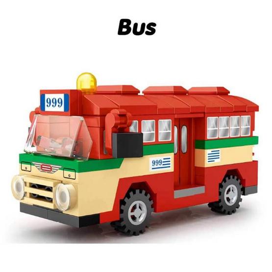 LOZ Mini Block เซตบริคหรรษาเที่ยวทั่วไทย