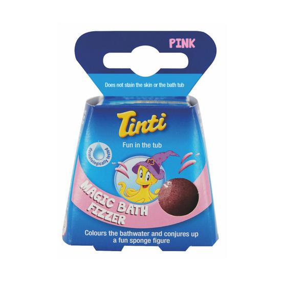 Tinti บาธบอมสีชมพู