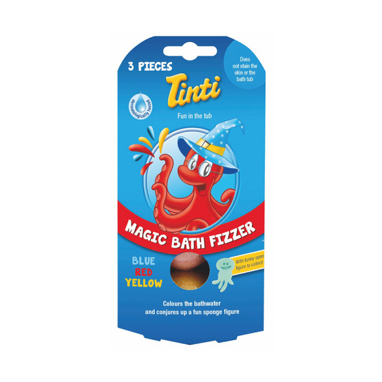 Tinti เม็ดสีอาบน้ำ (3 เม็ด/กล่อง)