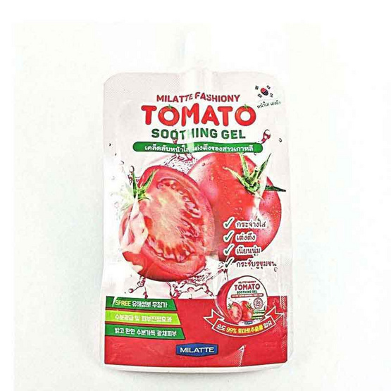 MILATTE FASHIONY TOMATO SOOTHING GEL 50 ml เจลมะเขือเทศ