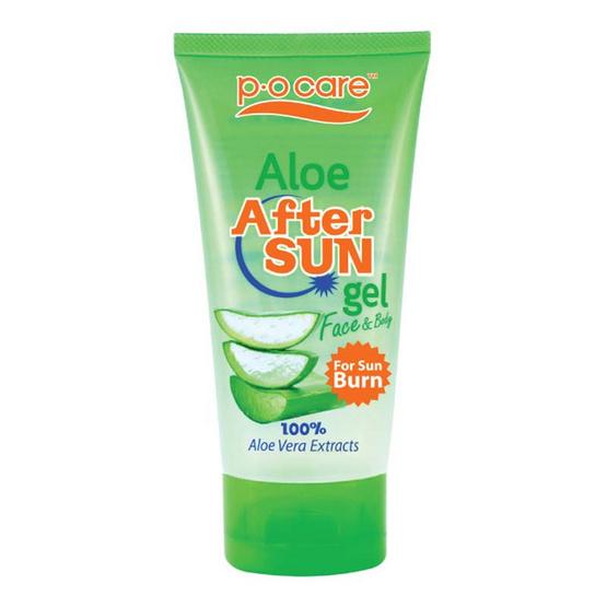 P.O.Care Aloe After Sun Gel For Sun Burn 95 ml อโลเจลอาฟเตอร์ซัน